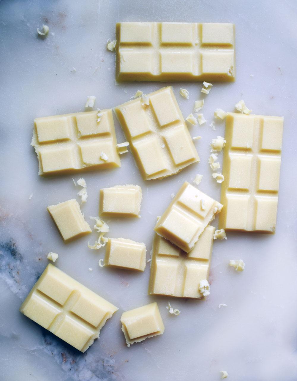 Vegan white chocolate