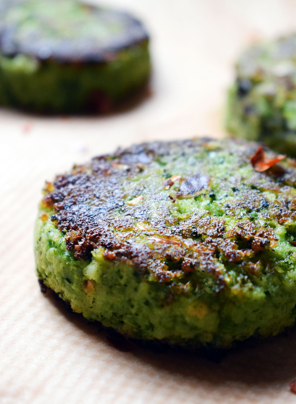 Vegan Broccoli Burger Patties Let S Eat Smart